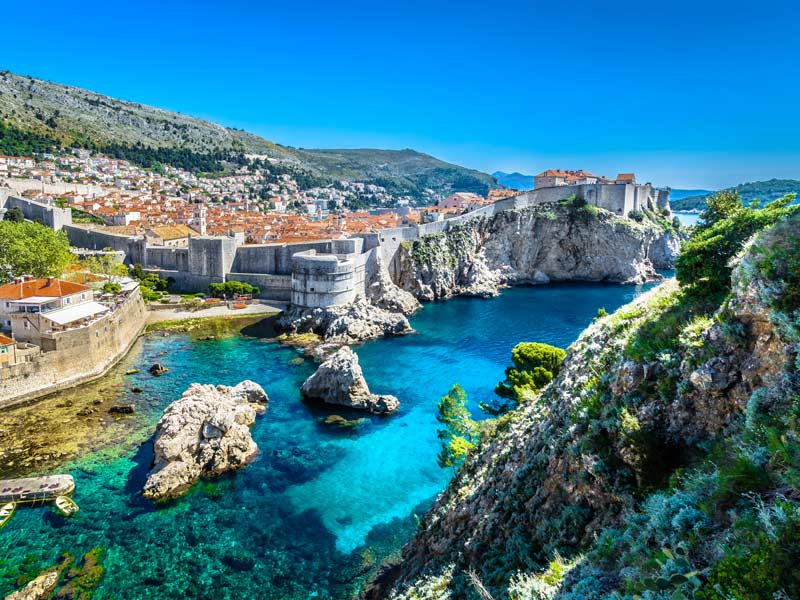 CROATIA • Holistic Yoga Flow 2022 Retreat With Travis Eliot And Lauren Eckstrom • May 13-19, 2022 • Luxury 5 Star Beachfront Hotel Palace Dubrovnik • BOOK EARLY WE WILL SELL OUT!